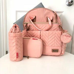 Skip hop pink backpack